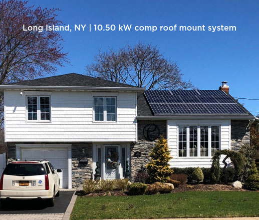 Long Island, NY | 10.50 kW comp roof mount system